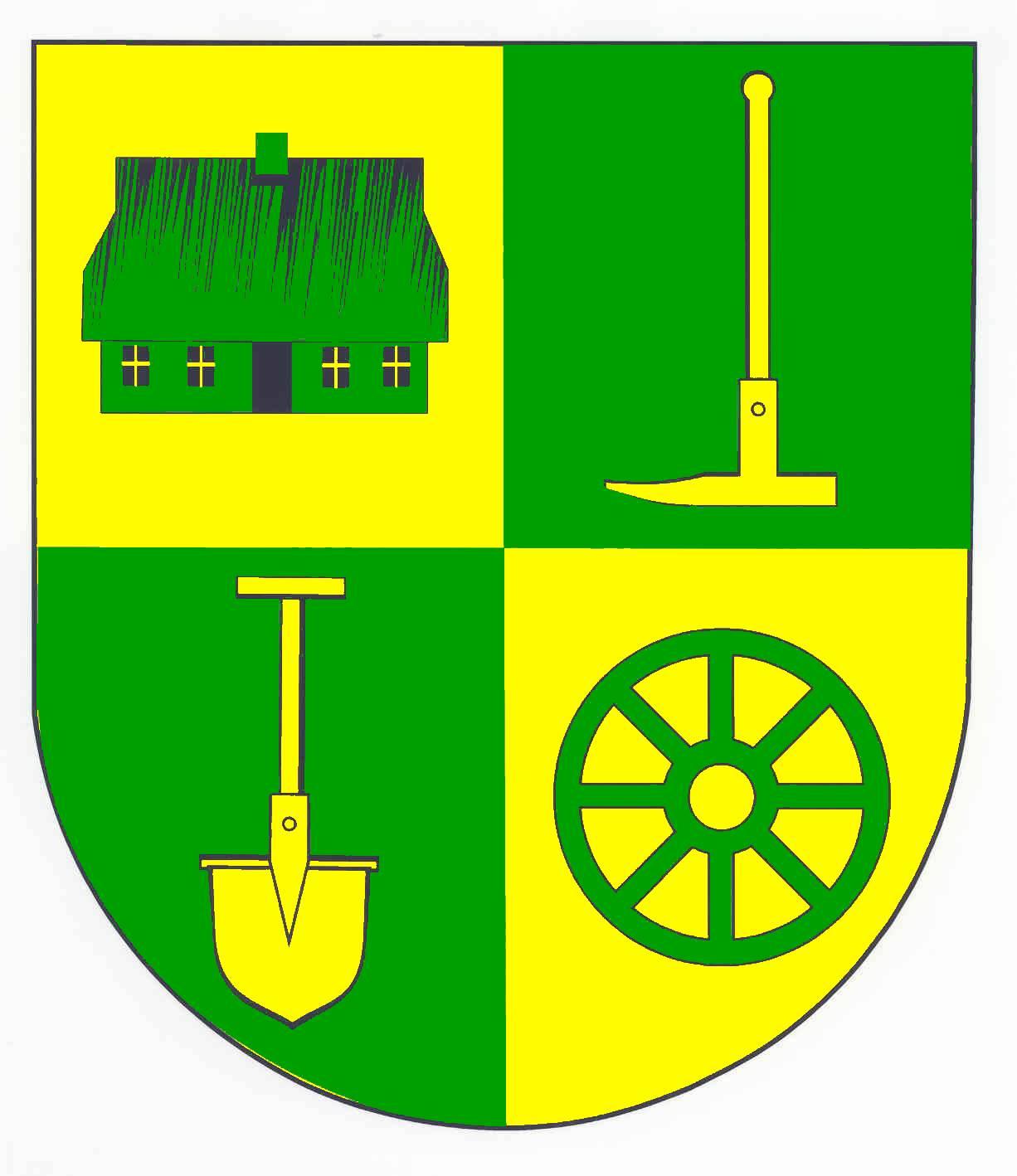 Wappen GemeindeHeiligenstedtenerkamp, Kreis Steinburg