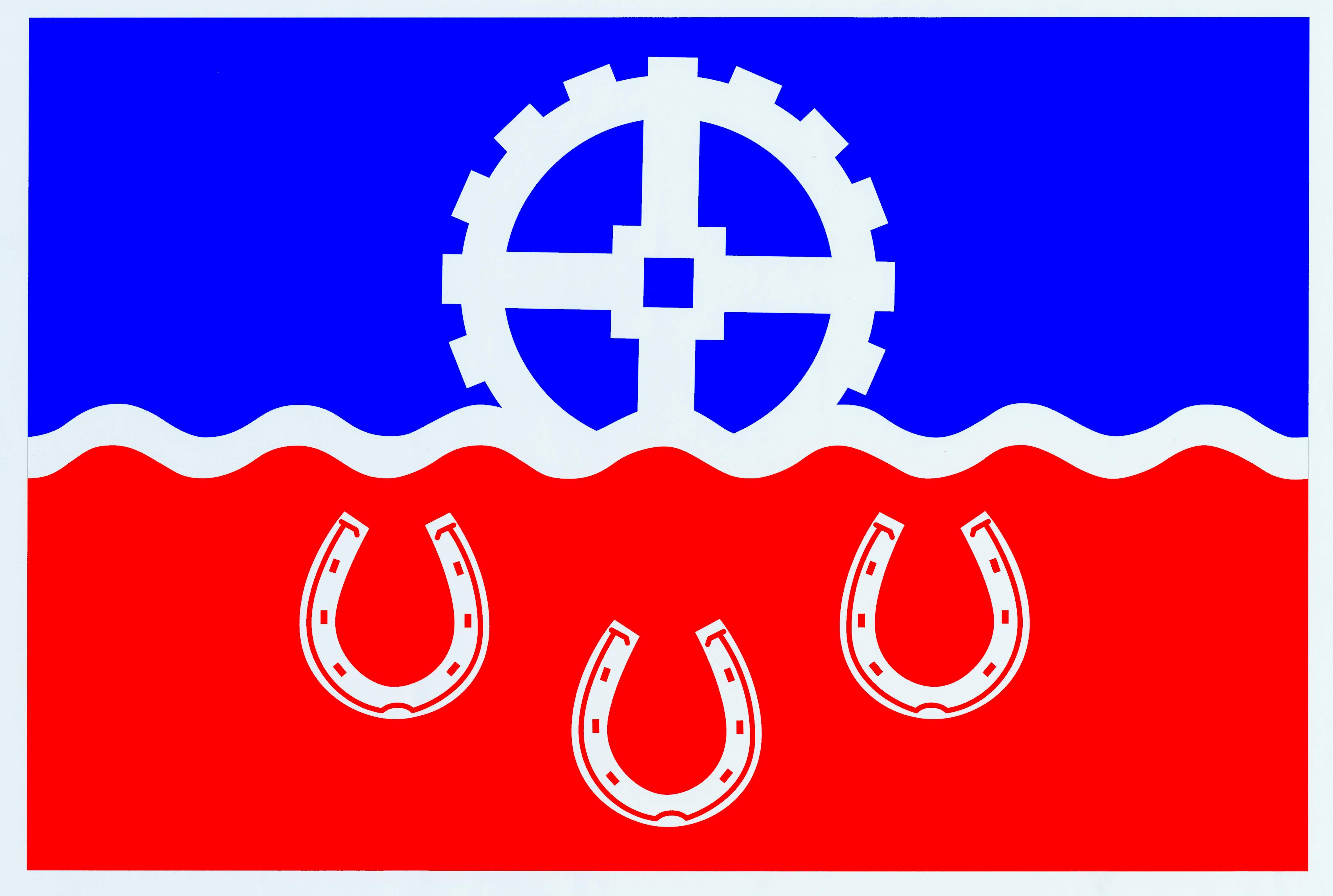 Flagge GemeindeHelmstorf, Kreis Plön