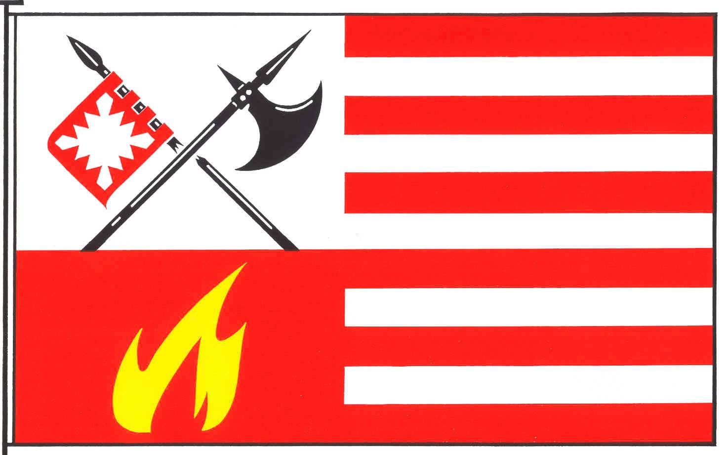 Flagge GemeindeHemmingstedt, Kreis Dithmarschen
