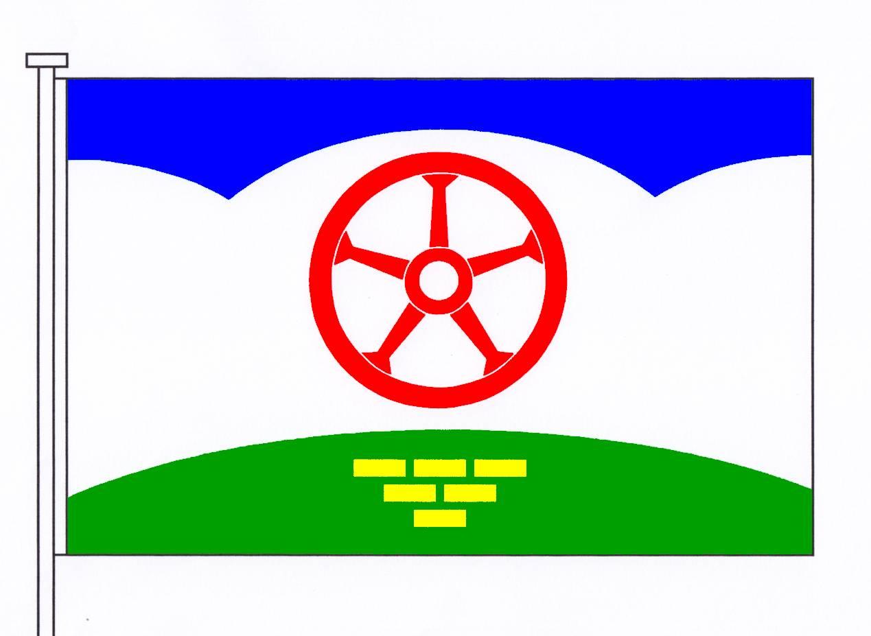 Flagge GemeindeHennstedt, Kreis Steinburg