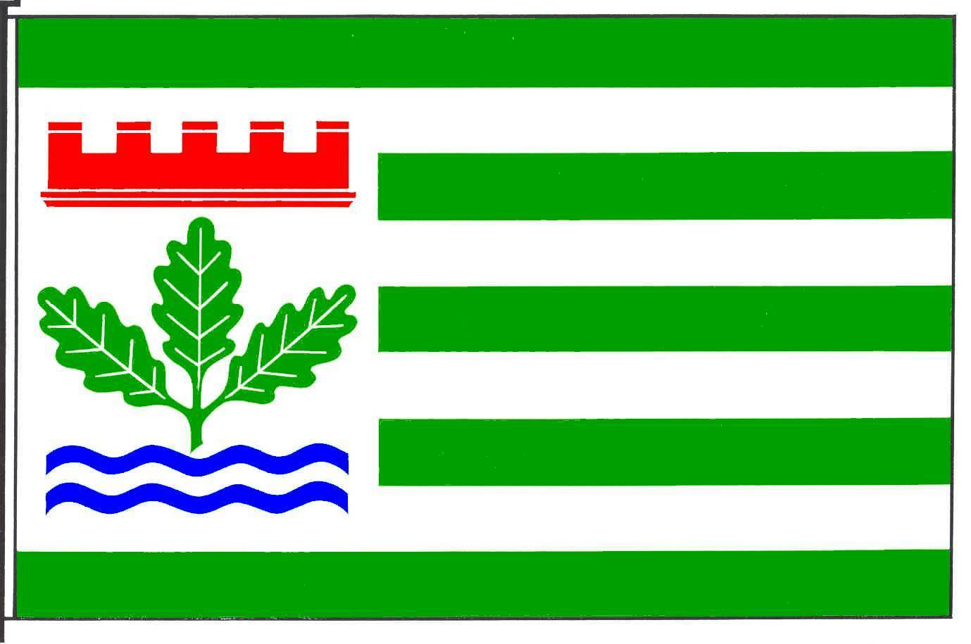 Flagge GemeindeHenstedt-Ulzburg, Kreis Segeberg