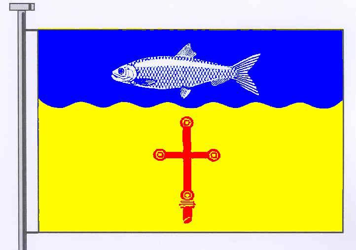 Flagge GemeindeHeringsdorf, Kreis Ostholstein