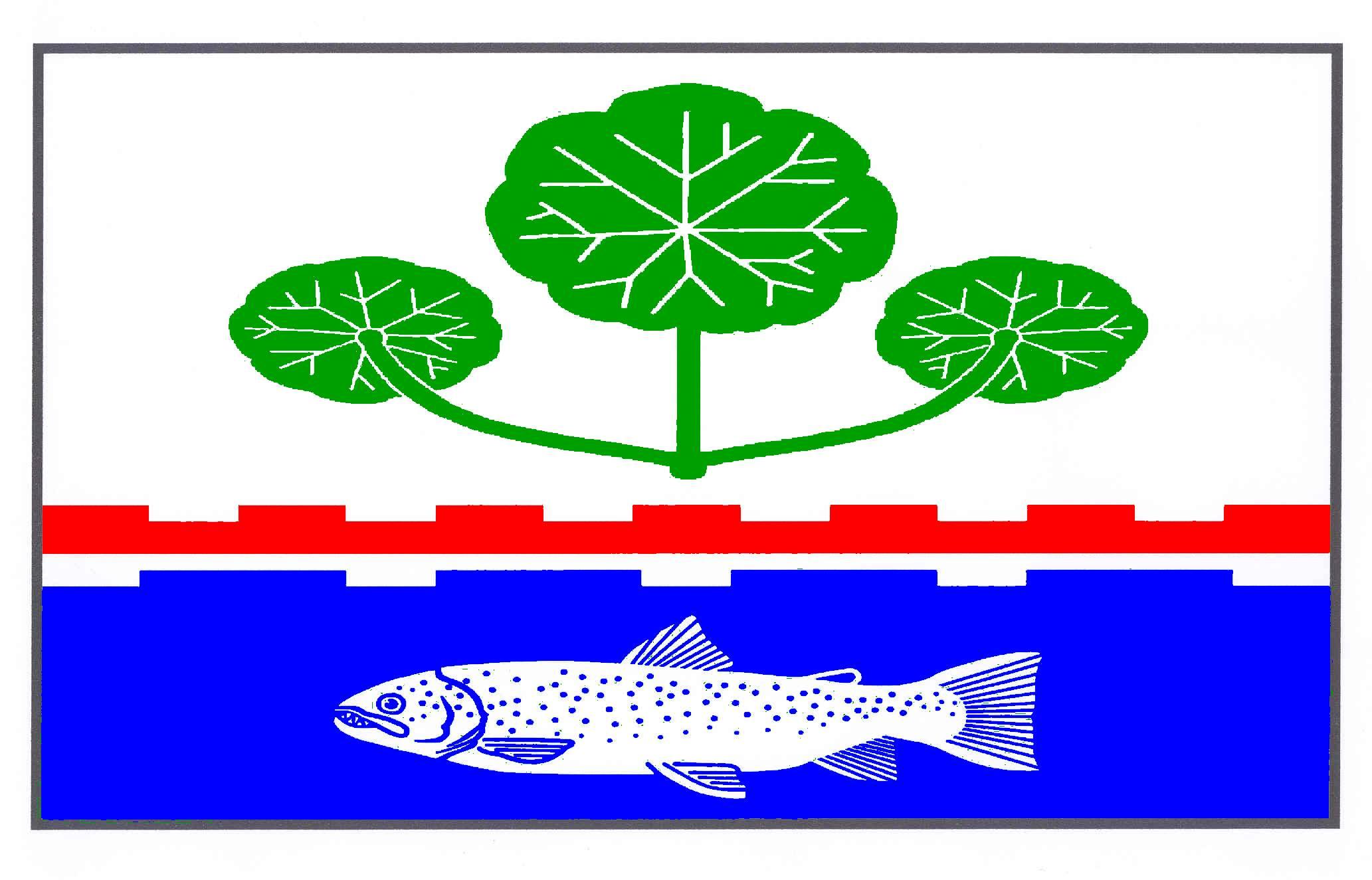 Flagge GemeindeHitzhusen, Kreis Segeberg