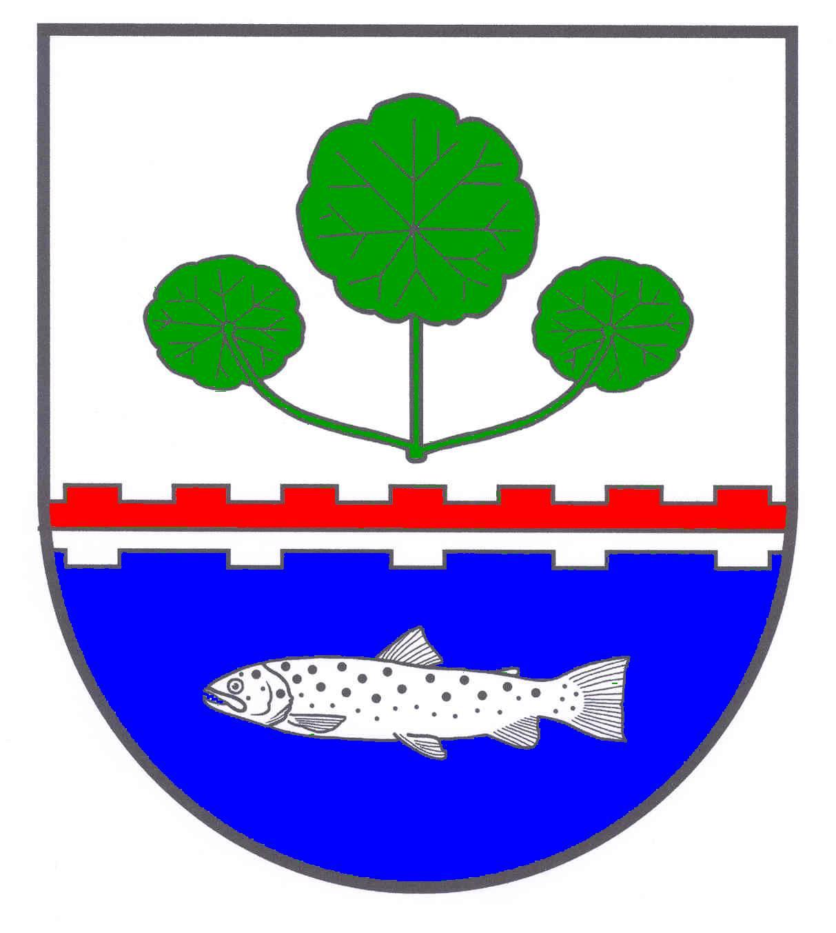 Wappen GemeindeHitzhusen, Kreis Segeberg