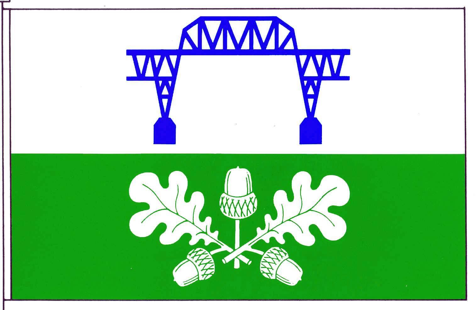 Flagge GemeindeHochdonn, Kreis Dithmarschen