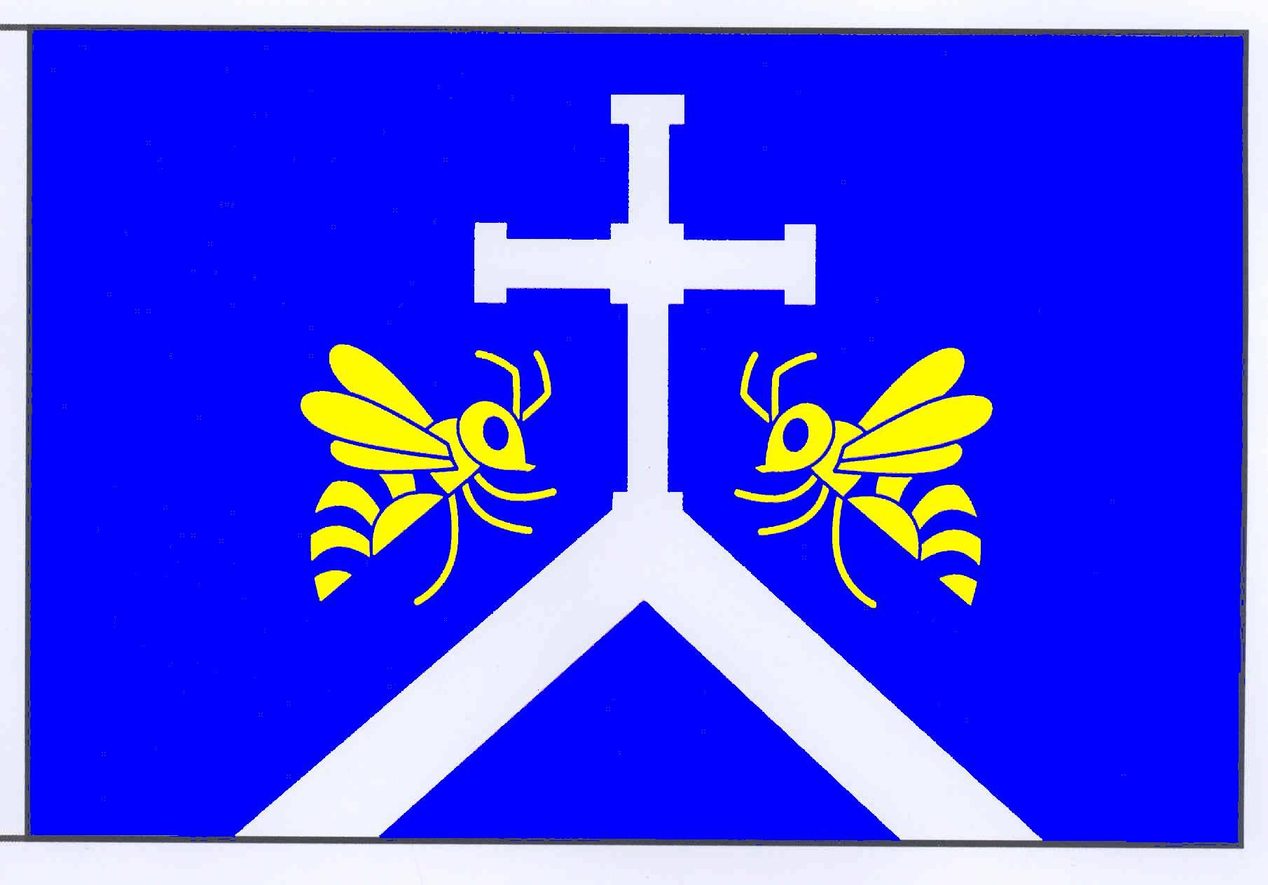 Flagge GemeindeHögersdorf, Kreis Segeberg