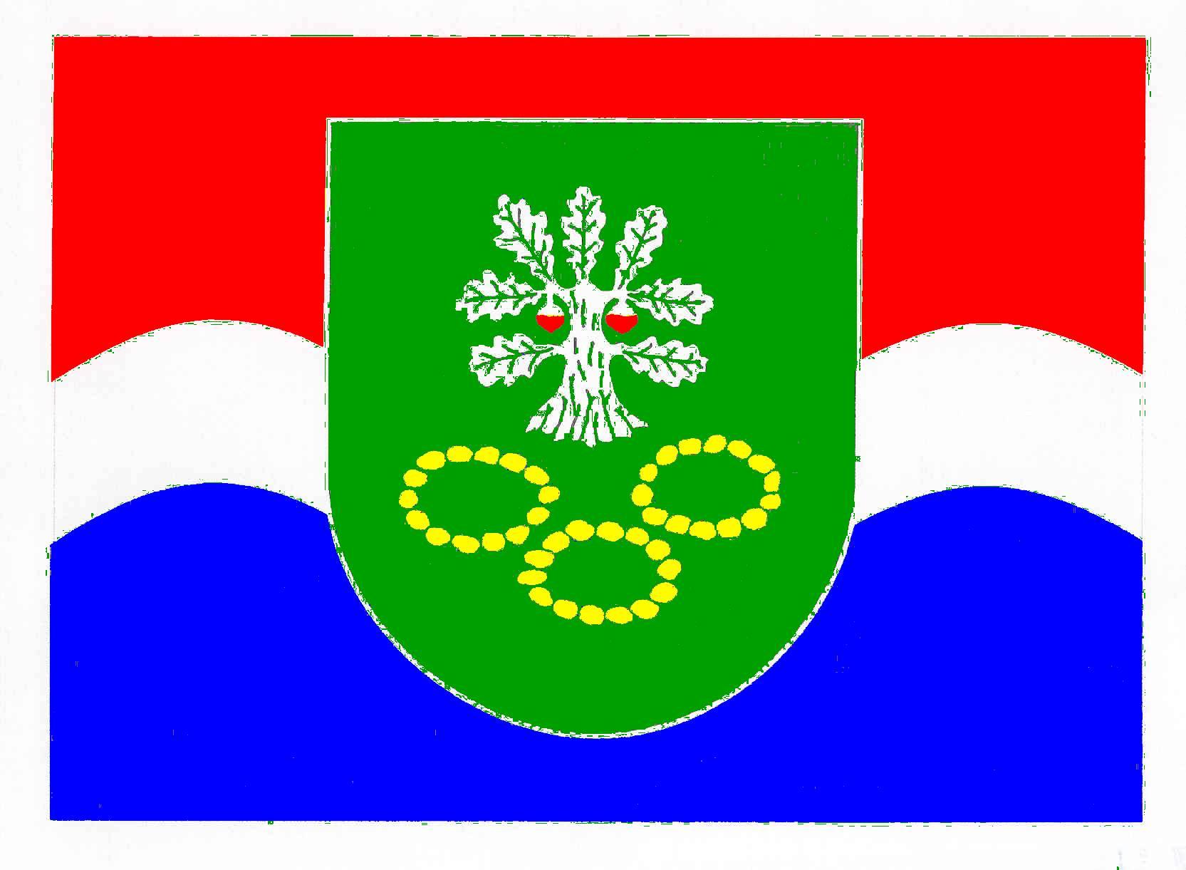 Flagge GemeindeHögsdorf, Kreis Plön
