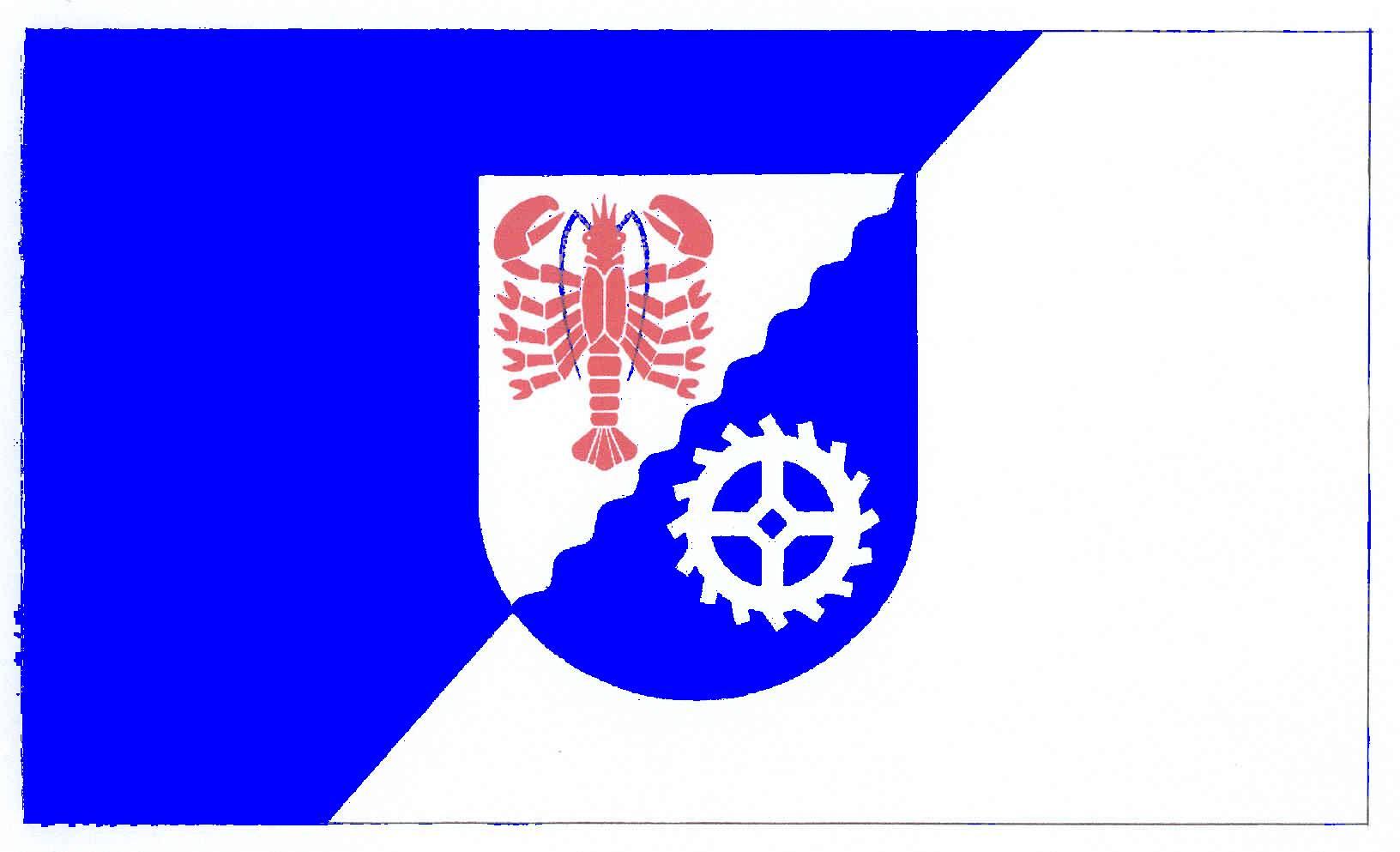 Flagge GemeindeHohenfelde, Kreis Plön
