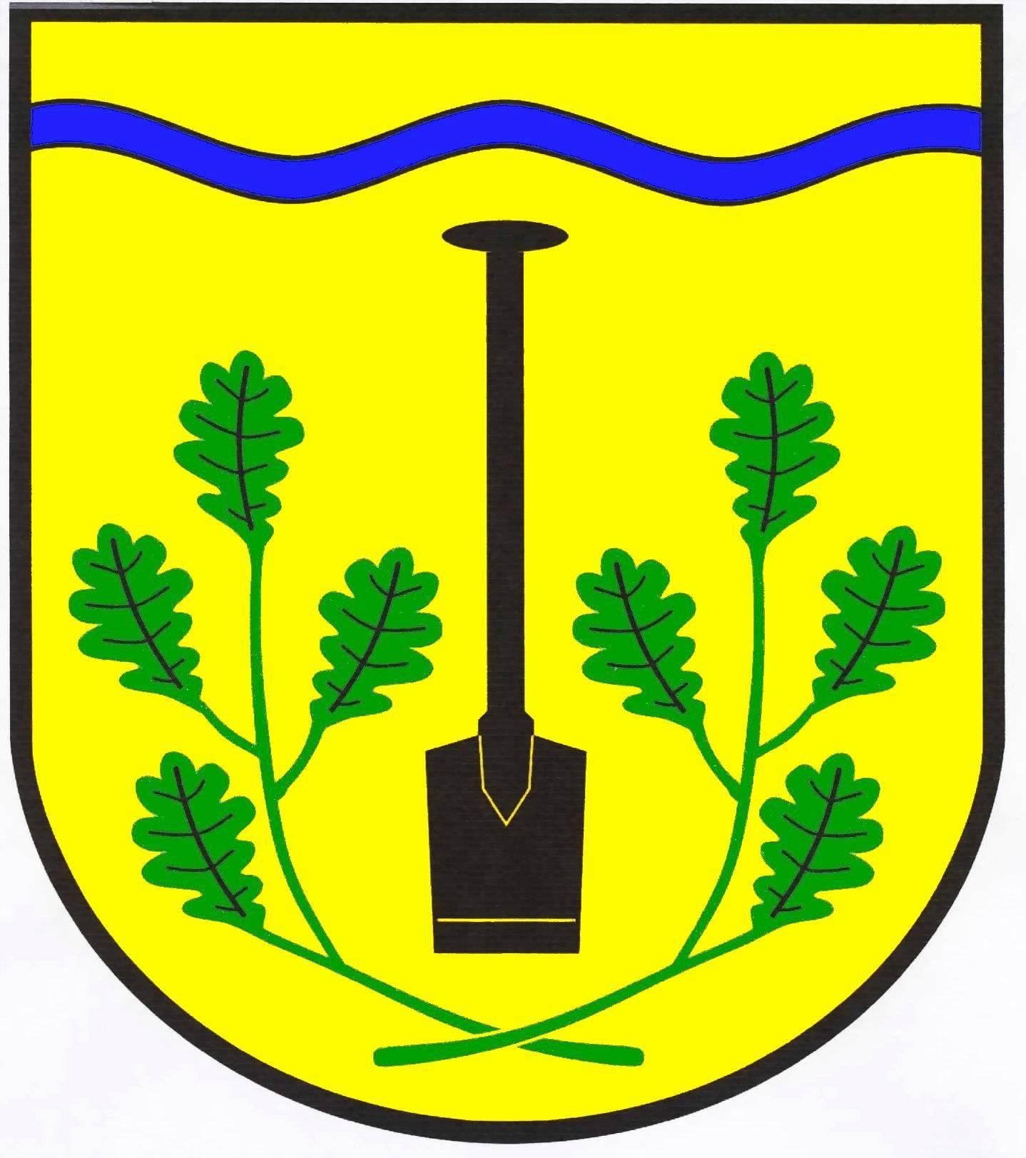Wappen GemeindeHollingstedt, Kreis Dithmarschen