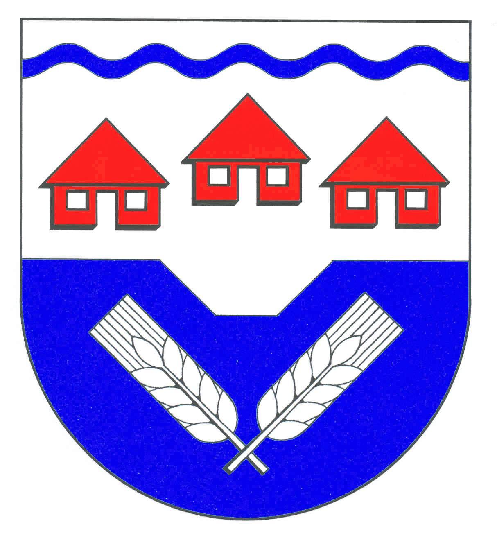 Wappen GemeindeHolstenniendorf, Kreis Steinburg