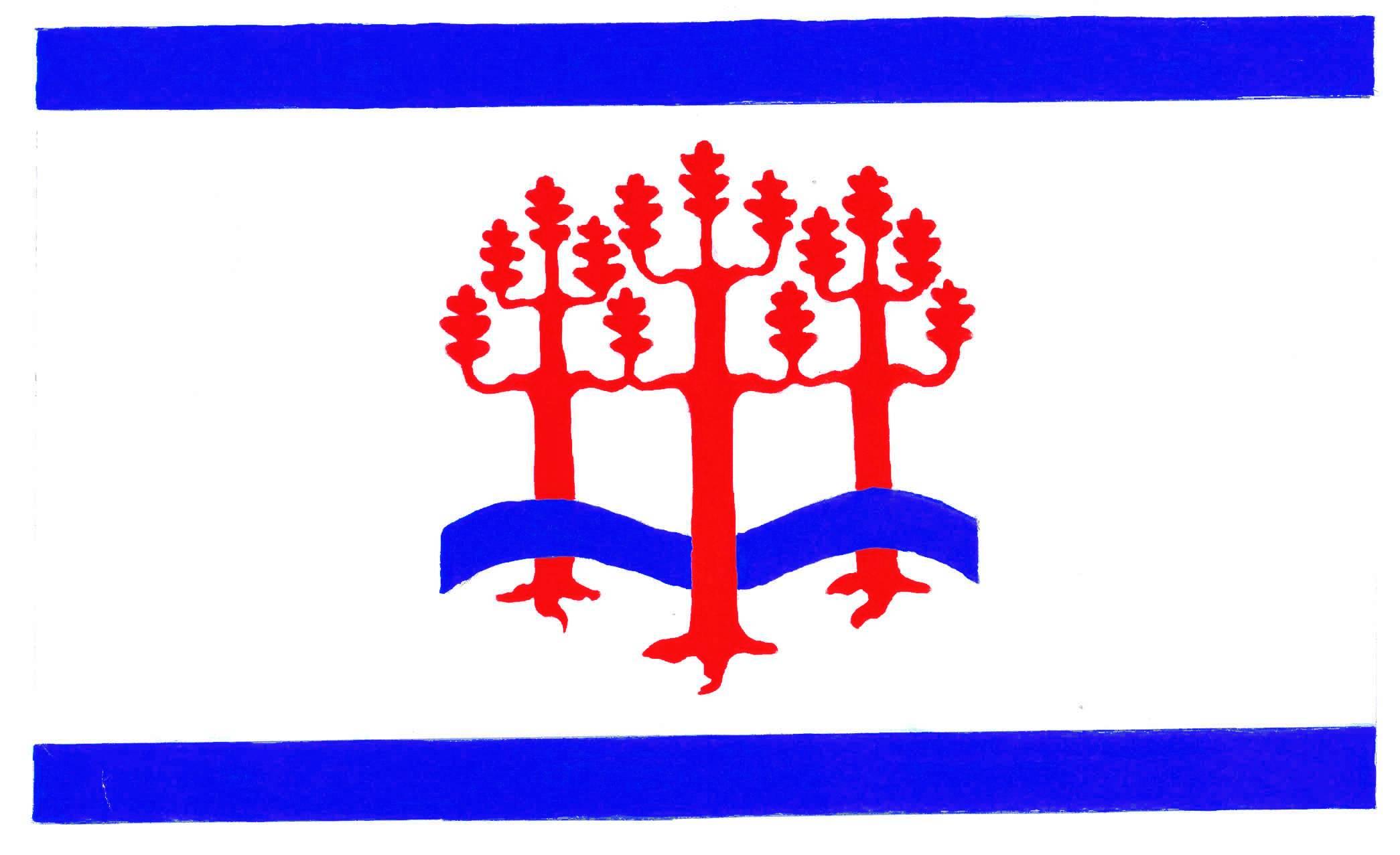 Flagge GemeindeHolzdorf, Kreis Rendsburg-Eckernförde