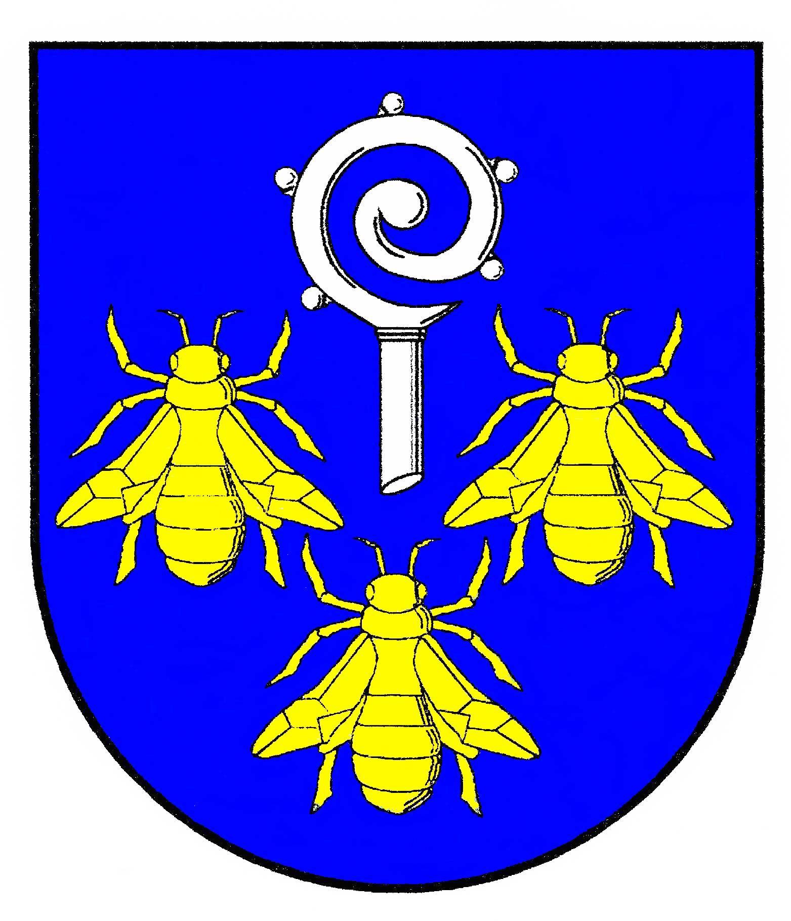 Wappen GemeindeHonigsee, Kreis Plön