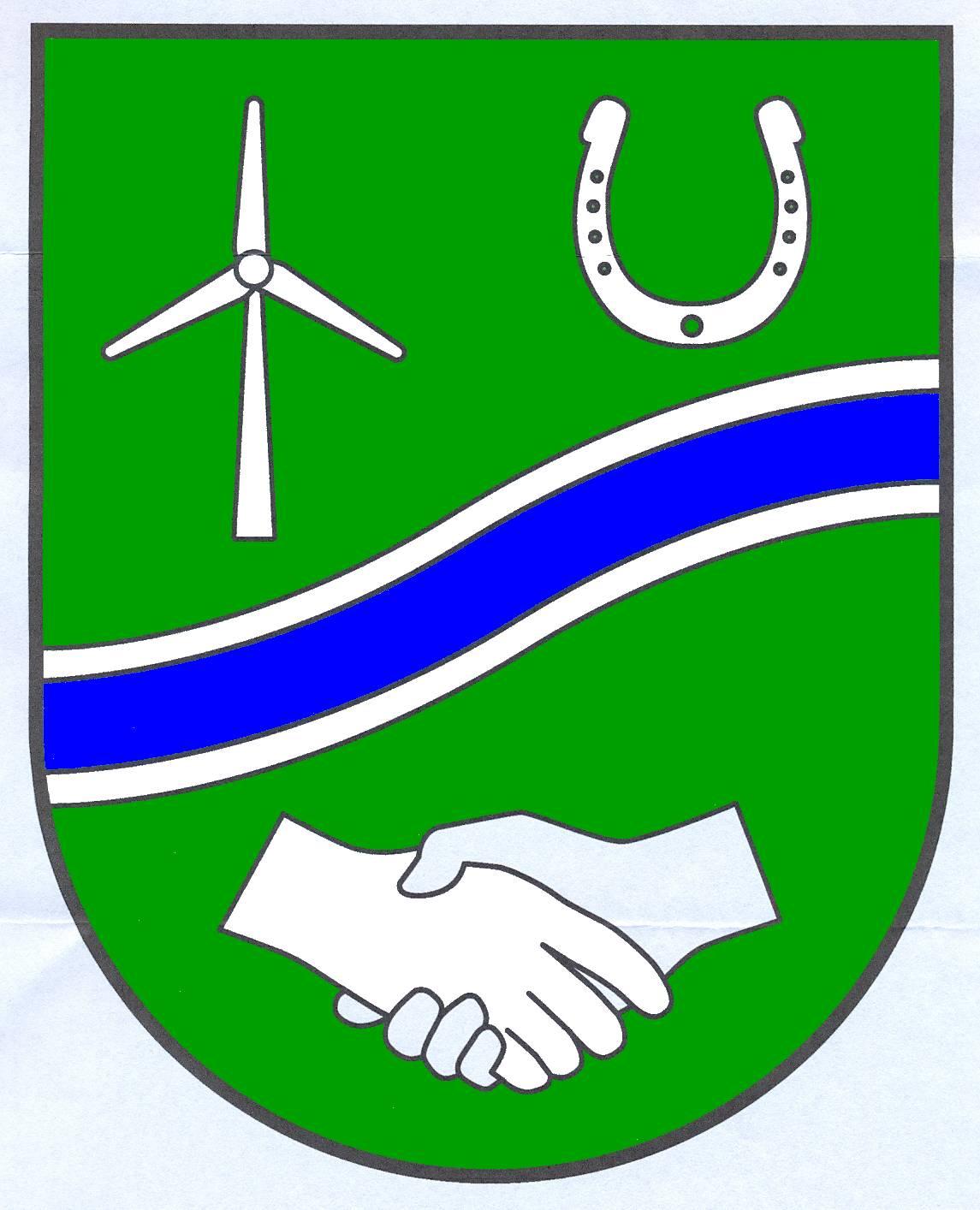 Wappen GemeindeHorstedt, Kreis Nordfriesland