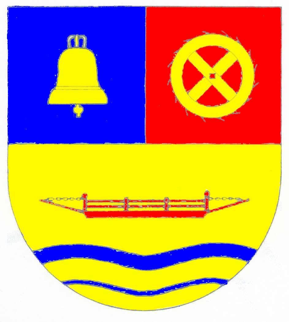 Wappen GemeindeHude, Kreis Nordfriesland