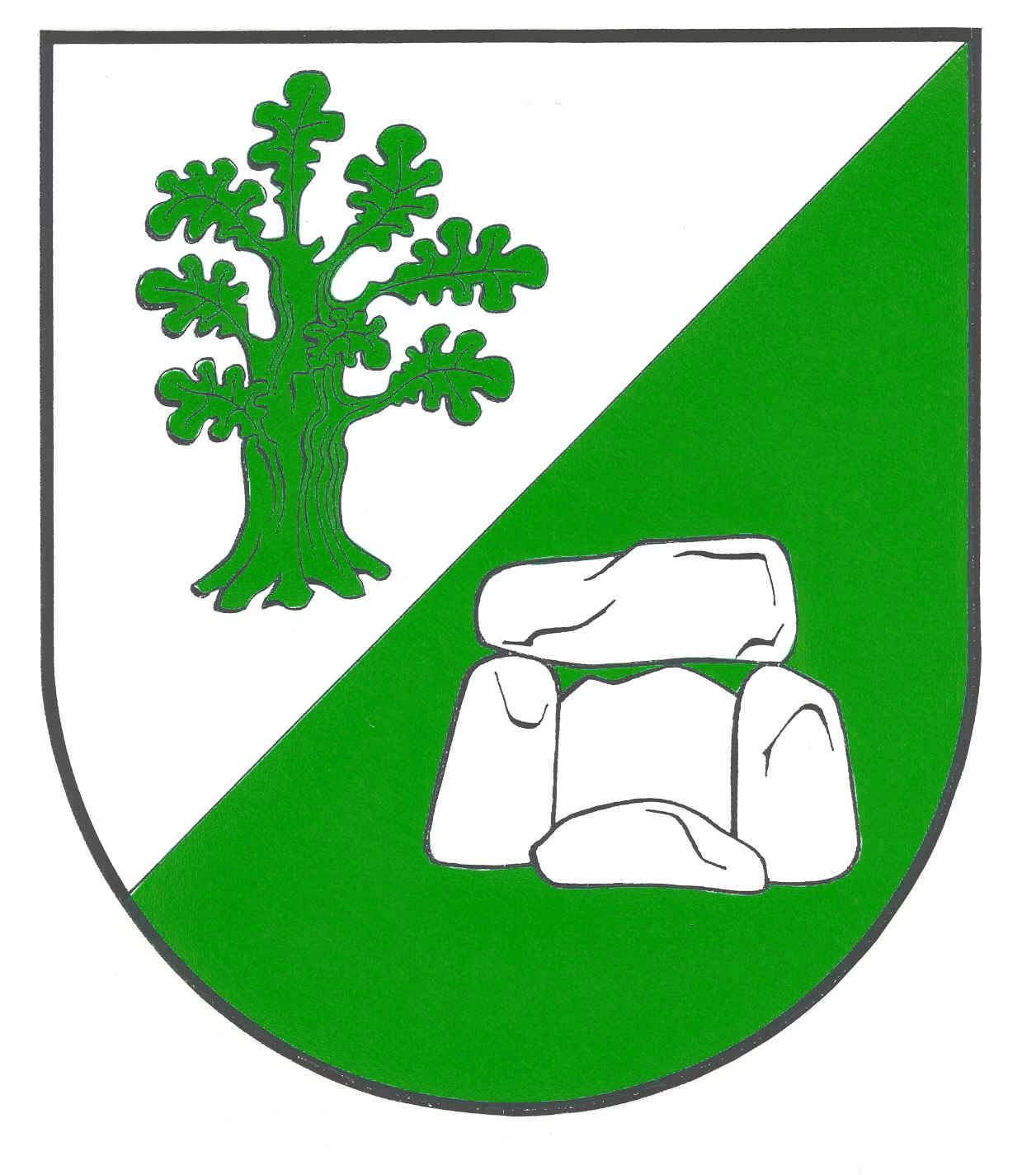 Wappen GemeindeHüsby, Kreis Schleswig-Flensburg