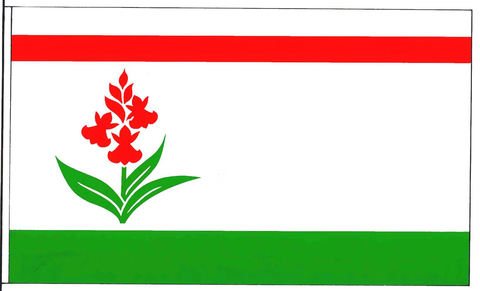 Flagge GemeindeHüttblek, Kreis Segeberg