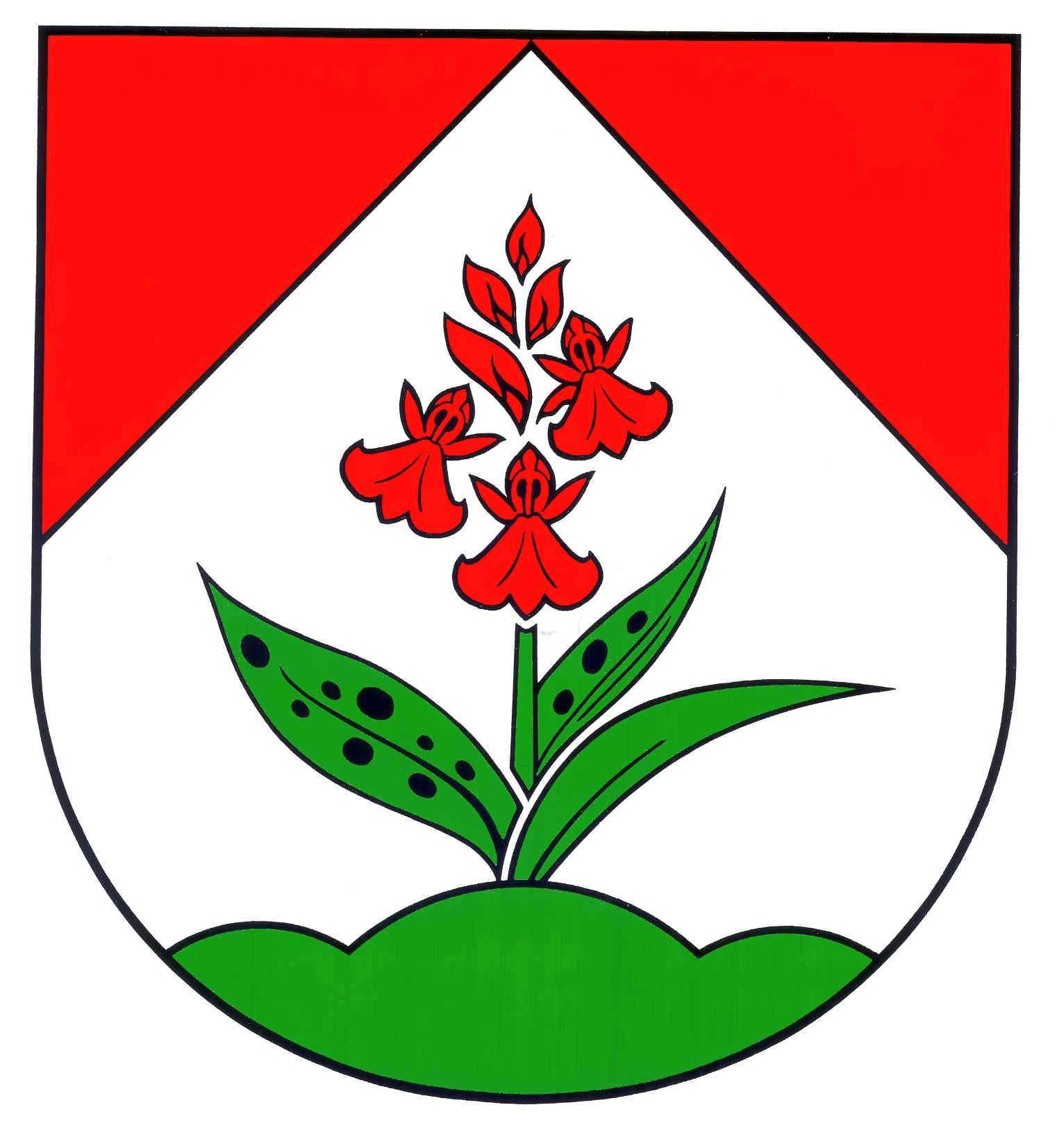 Wappen GemeindeHüttblek, Kreis Segeberg
