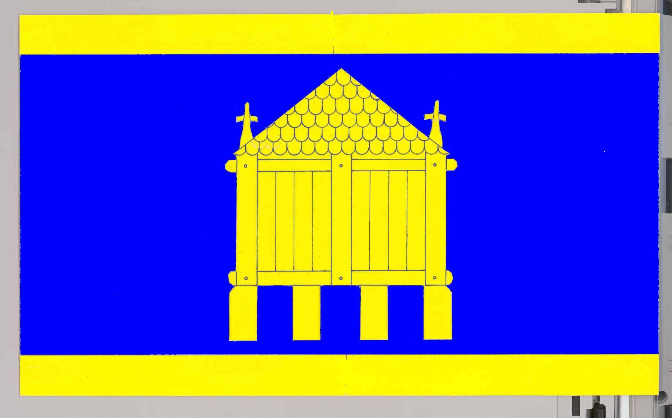Flagge GemeindeHusby, Kreis Schleswig-Flensburg