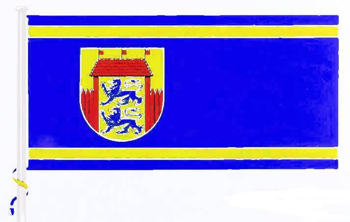 Flagge StadtHusum, Kreis Nordfriesland