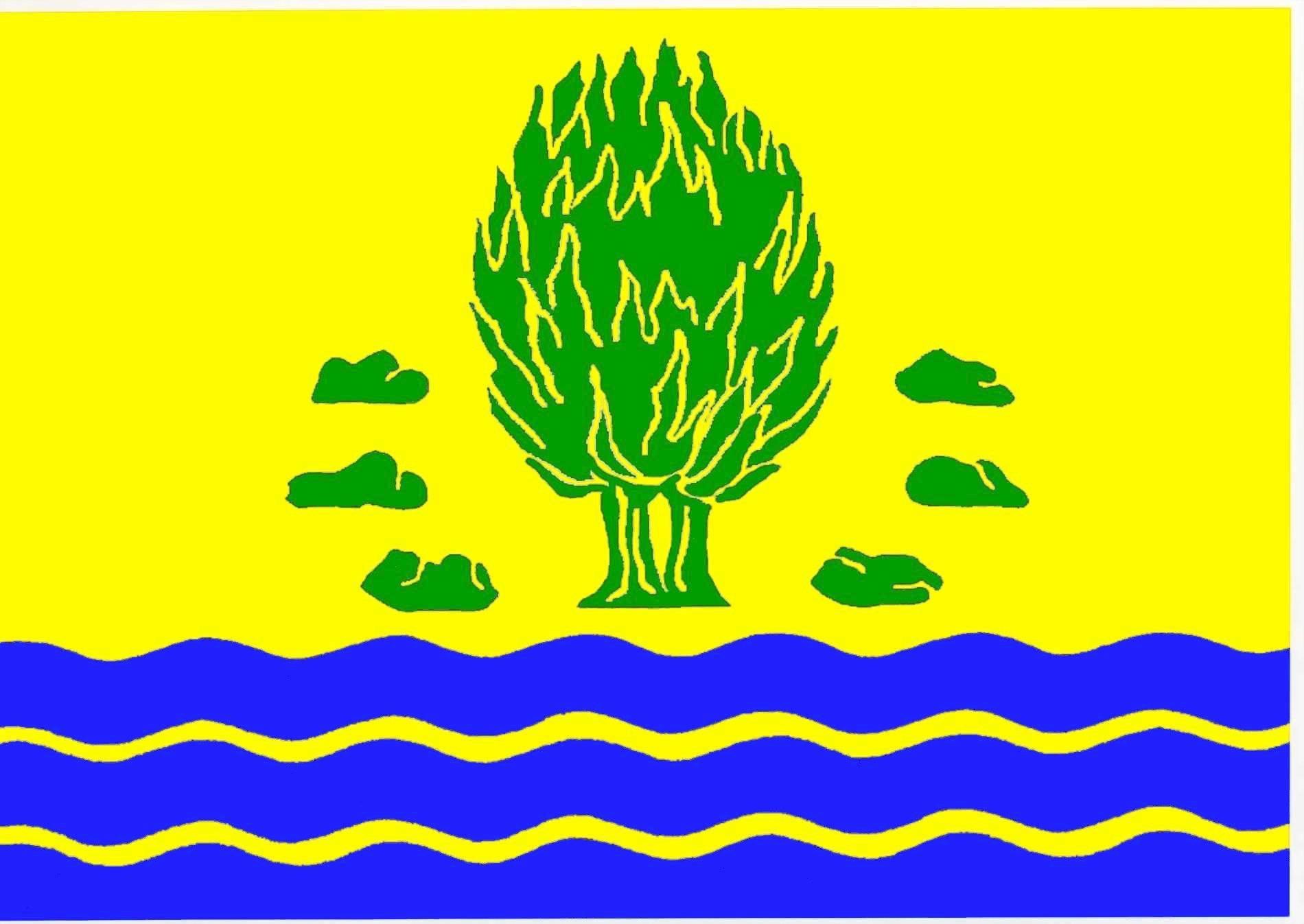 Flagge GemeindeIdstedt, Kreis Schleswig-Flensburg
