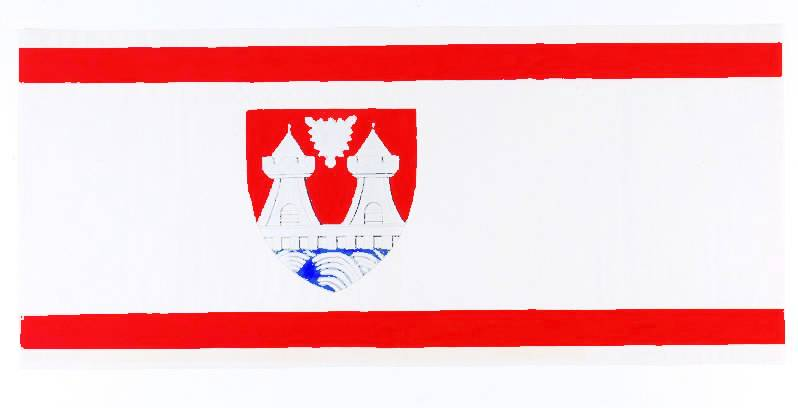 Flagge StadtItzehoe, Kreis Steinburg