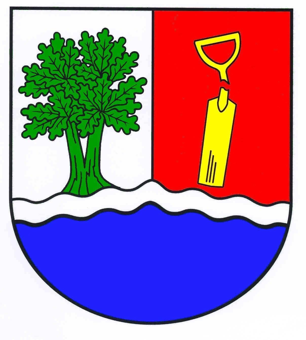 Wappen GemeindeItzstedt, Kreis Segeberg