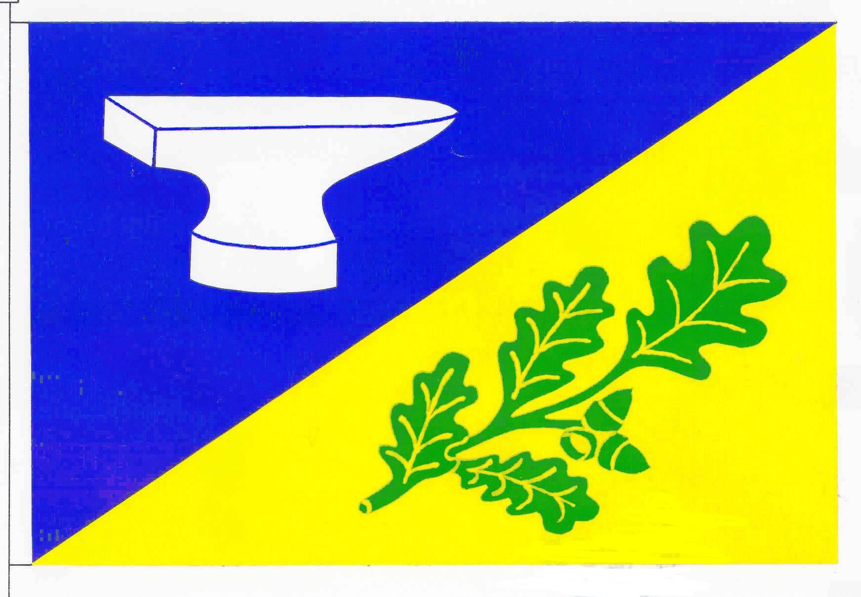 Flagge GemeindeJerrishoe, Kreis Schleswig-Flensburg