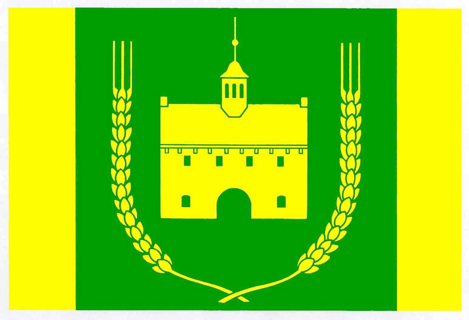 Flagge GemeindeJersbek, Kreis Stormarn