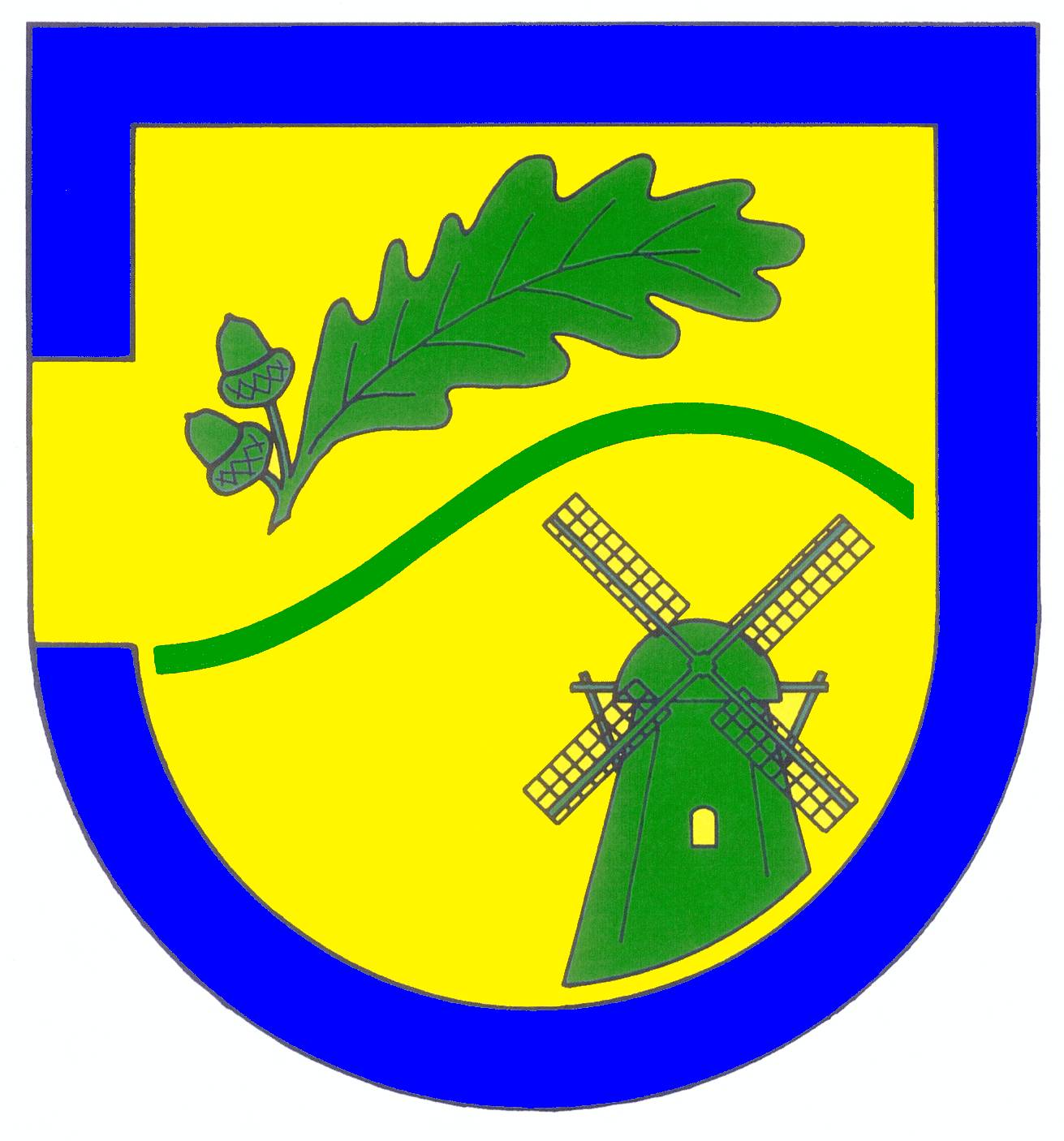 Wappen GemeindeJoldelund, Kreis Nordfriesland