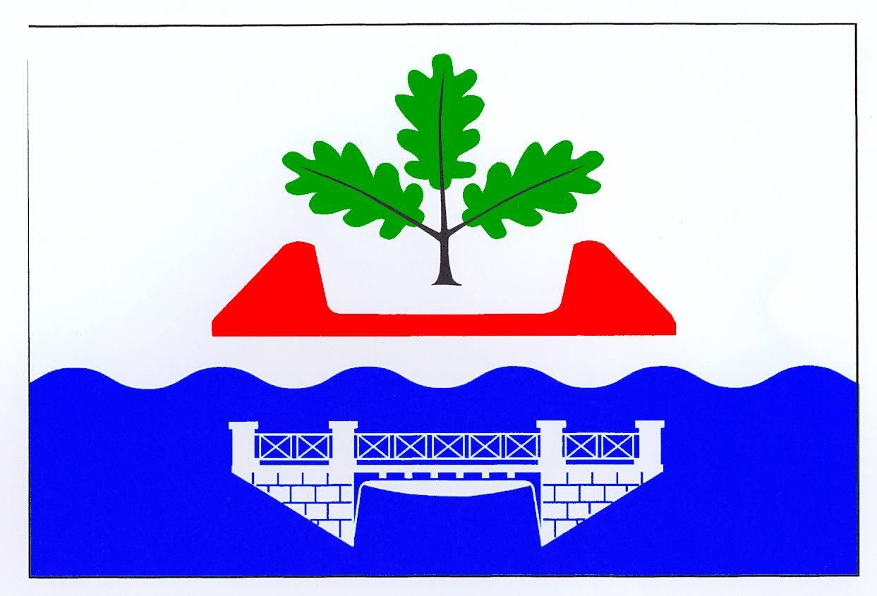 Flagge GemeindeKaaks, Kreis Steinburg