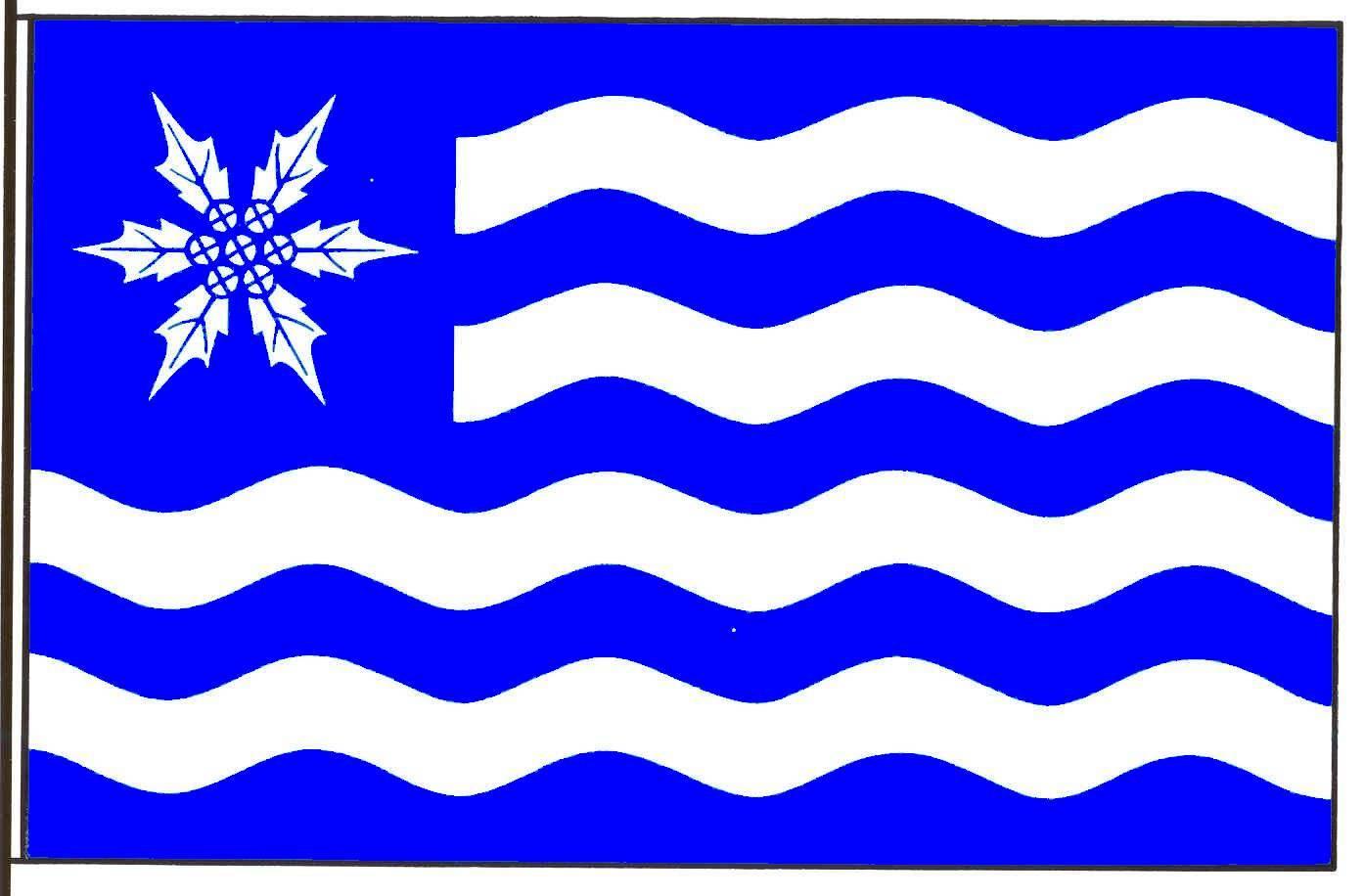 Flagge GemeindeKampen, Kreis Nordfriesland