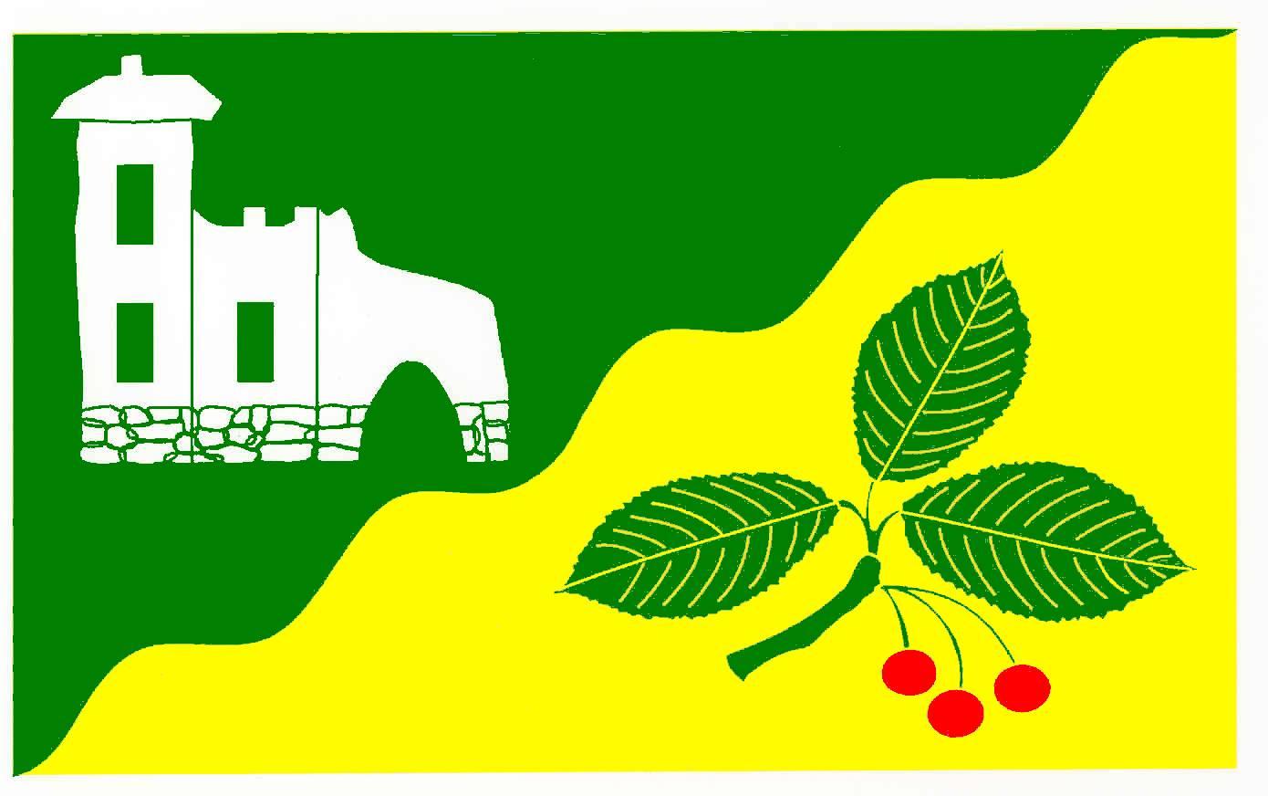 Flagge GemeindeKasseburg, Kreis Herzogtum Lauenburg