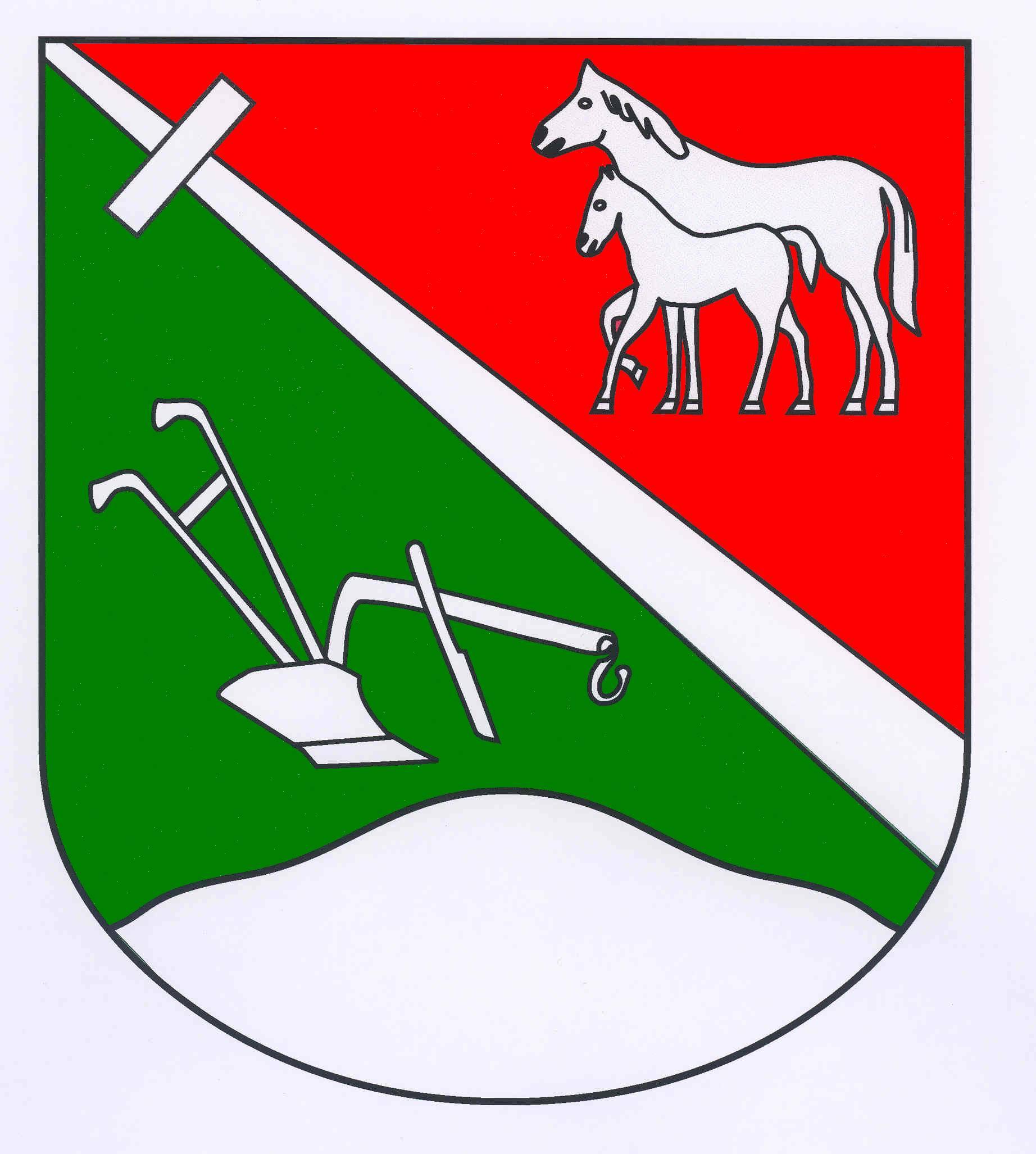 Wappen GemeindeKastorf, Kreis Herzogtum Lauenburg