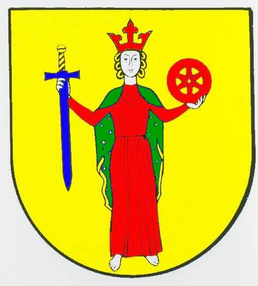 Wappen GemeindeKatharinenheerd, Kreis Nordfriesland