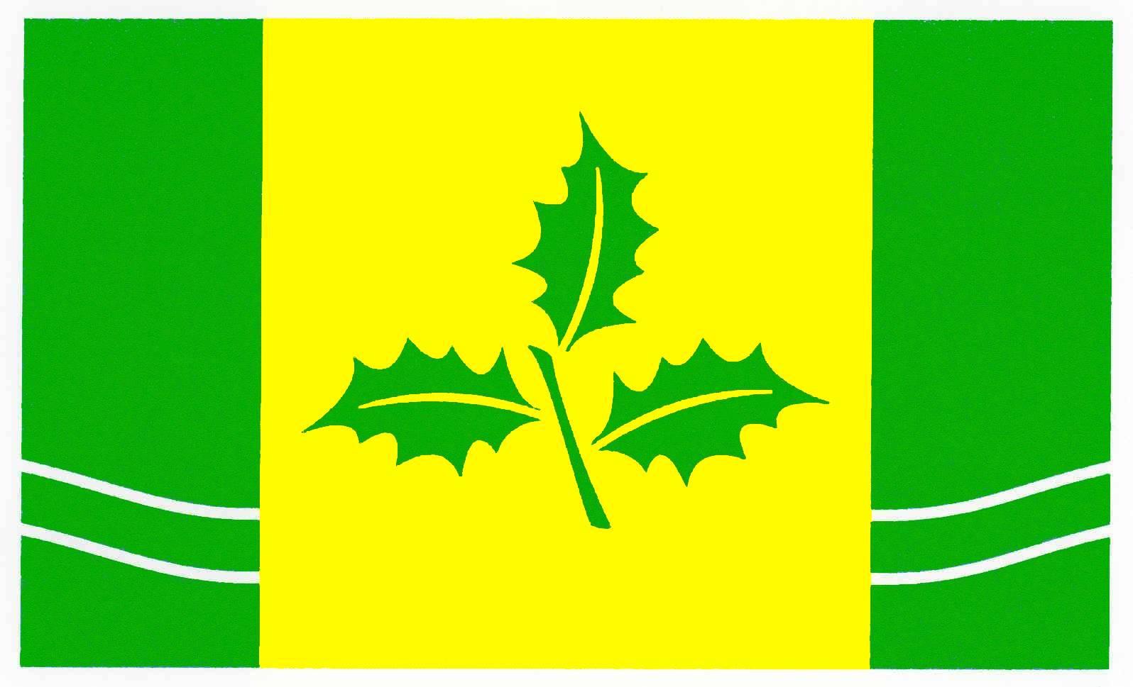 Flagge GemeindeKattendorf, Kreis Segeberg