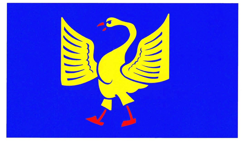 Flagge GemeindeKiebitzreihe, Kreis Steinburg