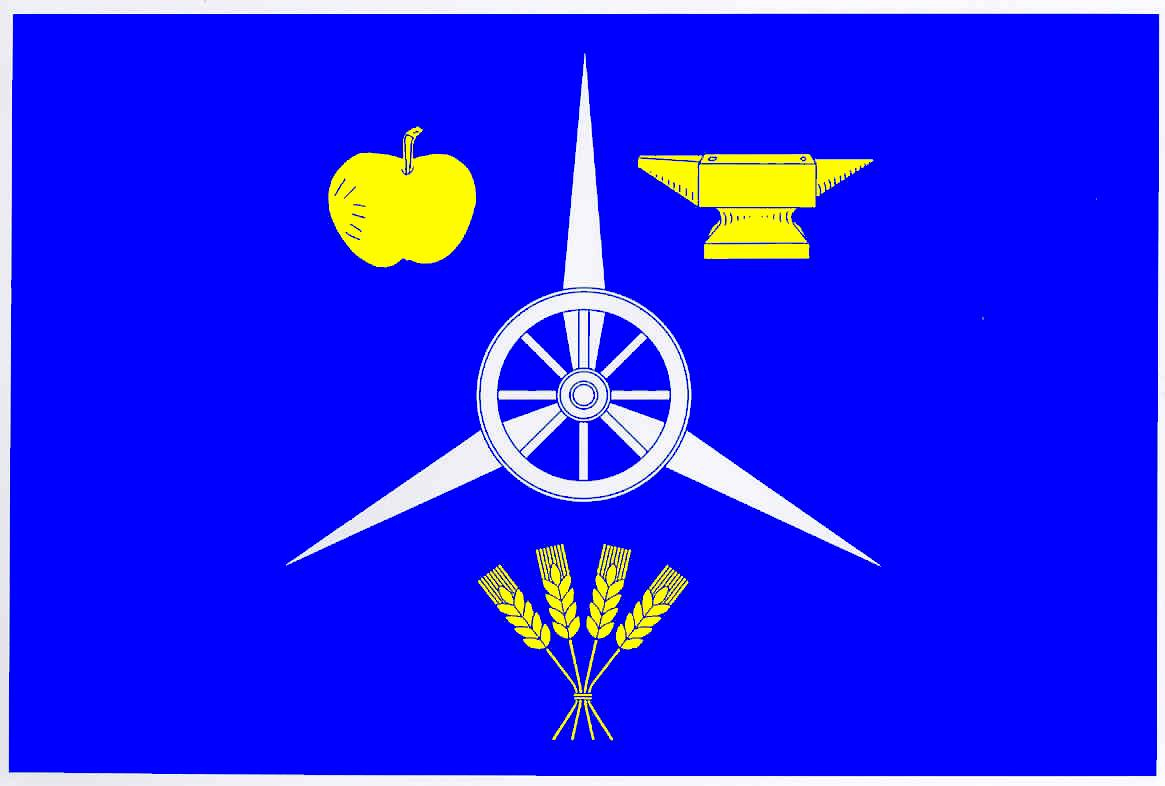 Flagge GemeindeKiesby, Kreis Schleswig-Flensburg