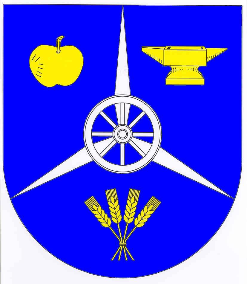 Wappen GemeindeKiesby, Kreis Schleswig-Flensburg