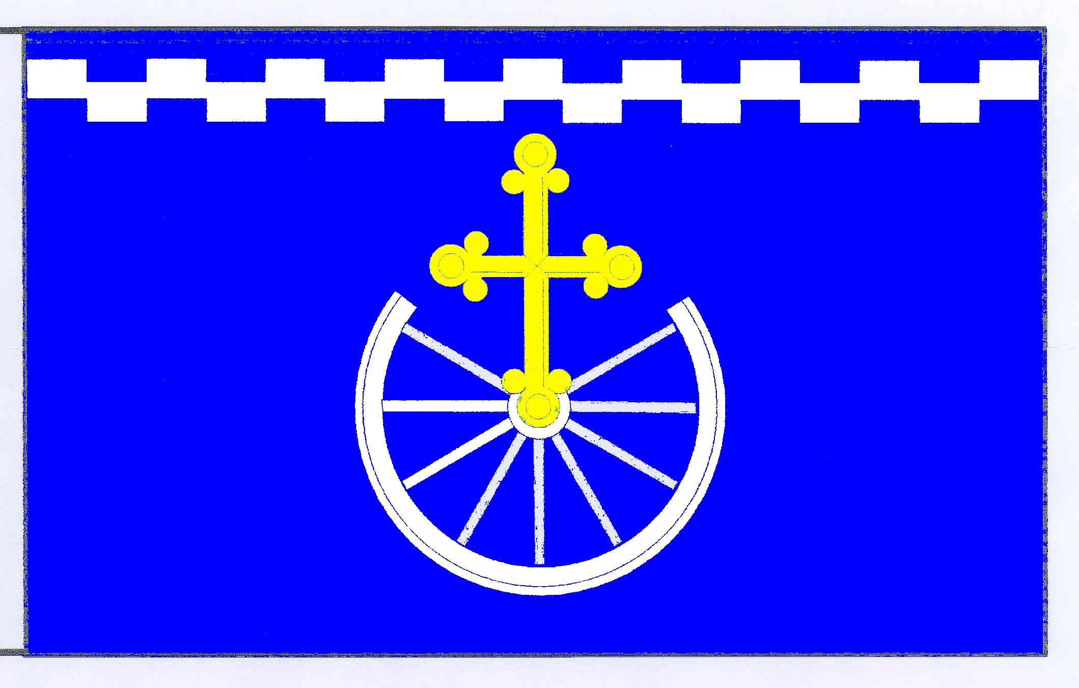 Flagge GemeindeKirchbarkau, Kreis Plön