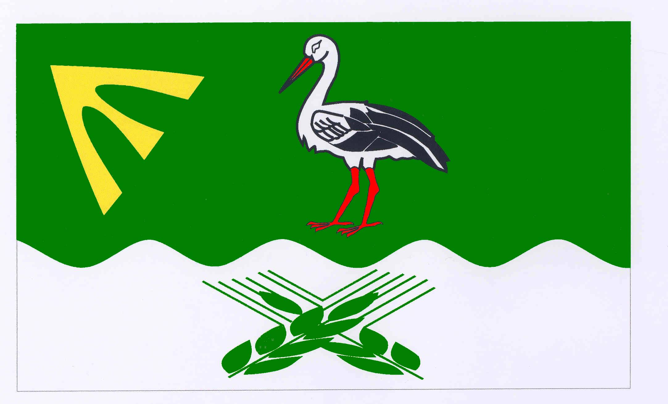 Flagge GemeindeKlempau, Kreis Herzogtum Lauenburg