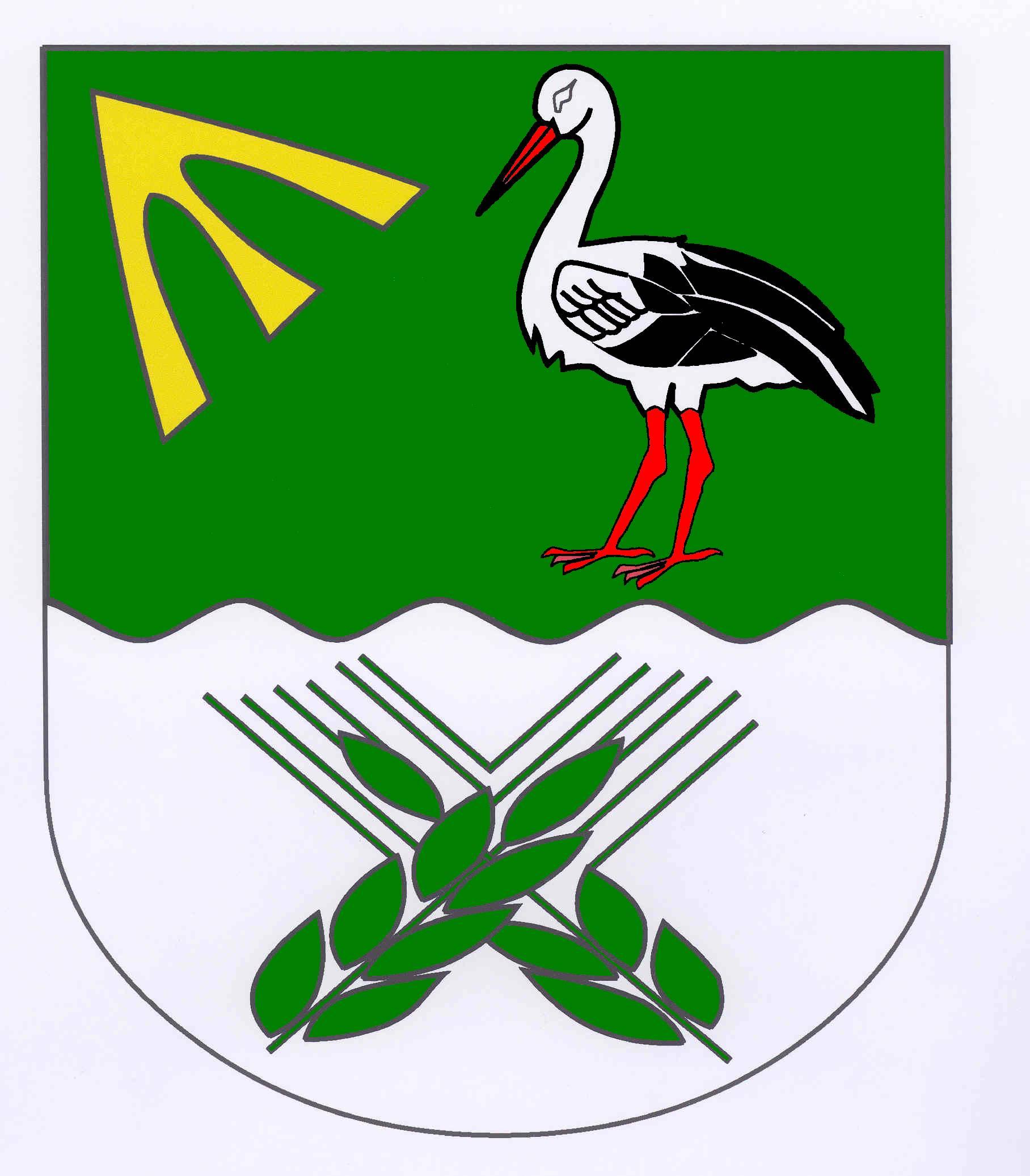 Wappen GemeindeKlempau, Kreis Herzogtum Lauenburg