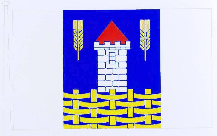 Flagge GemeindeKlixbüll, Kreis Nordfriesland
