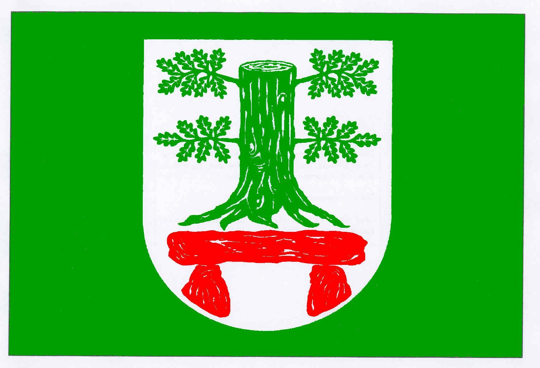 Flagge GemeindeKöhn, Kreis Plön