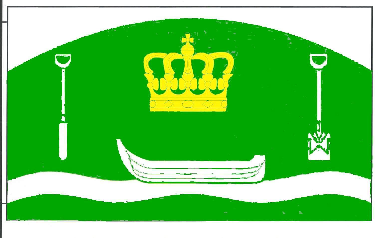 Flagge GemeindeKönigshügel, Kreis Rendsburg-Eckernförde