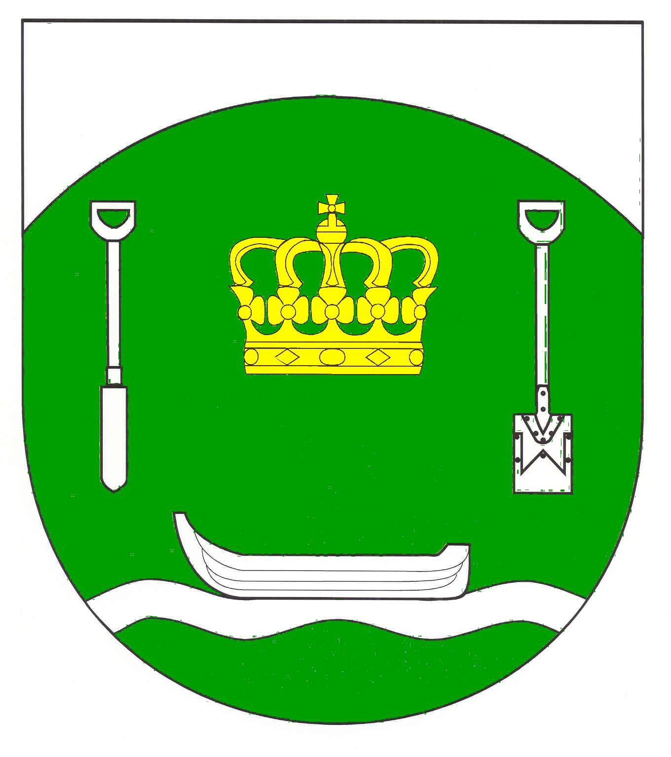 Wappen GemeindeKönigshügel, Kreis Rendsburg-Eckernförde