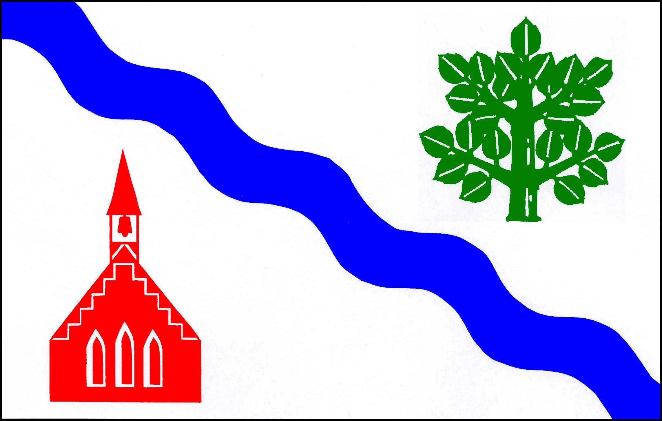 Flagge GemeindeKöthel, Kreis Stormarn