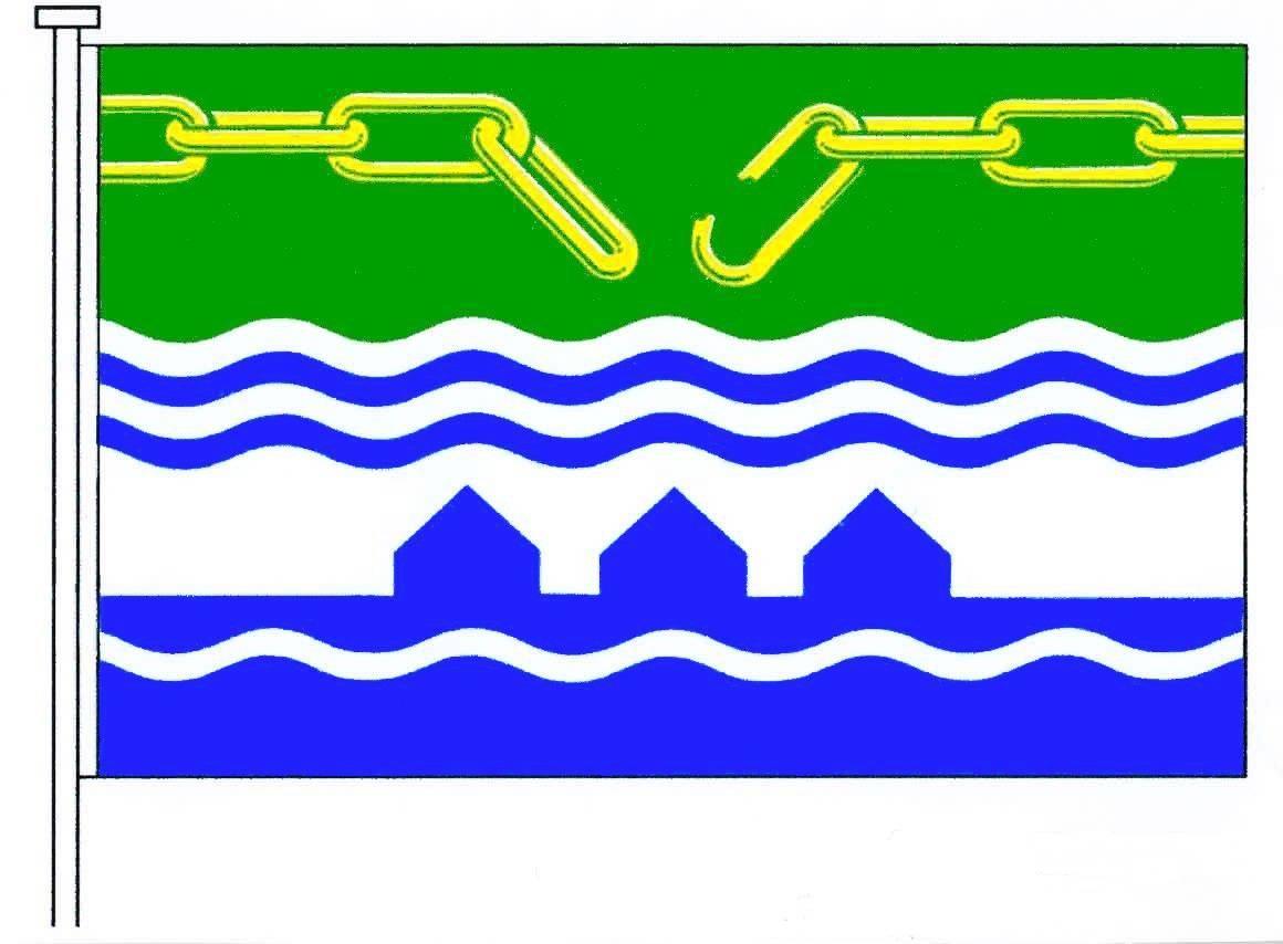 Flagge GemeindeKoldenbüttel, Kreis Nordfriesland