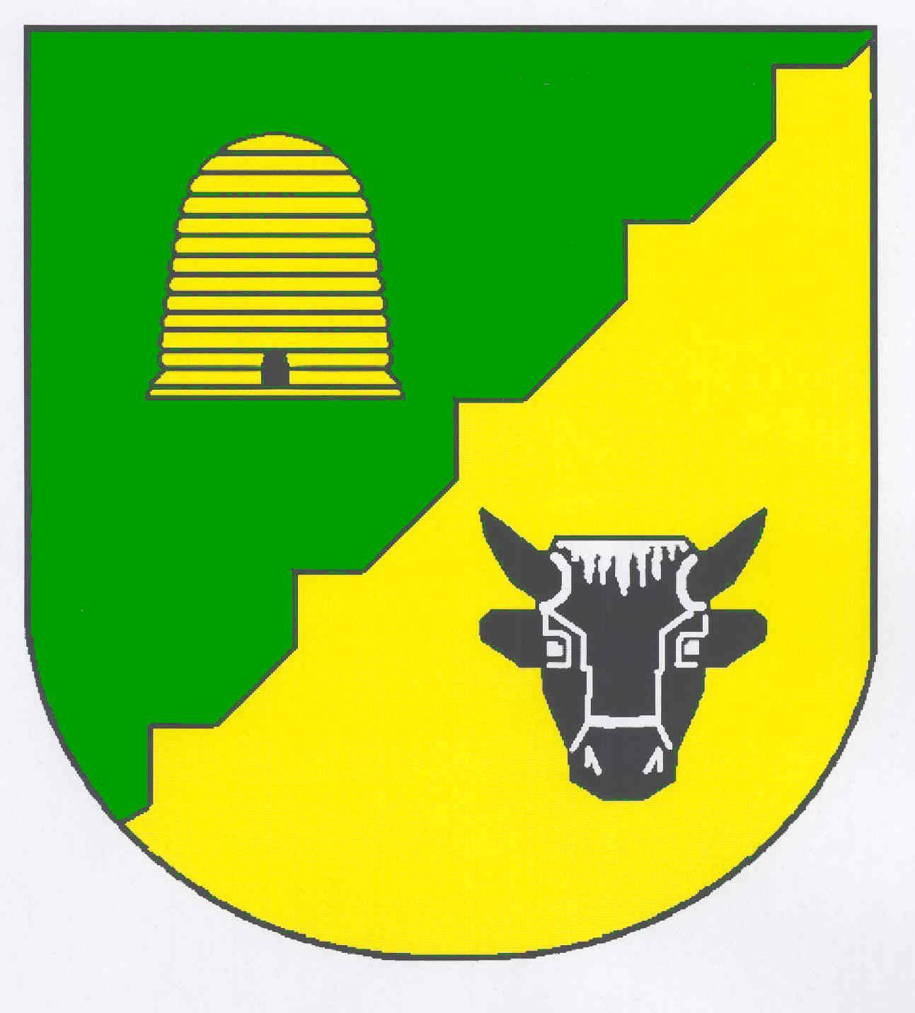 Wappen GemeindeKolkerheide, Kreis Nordfriesland