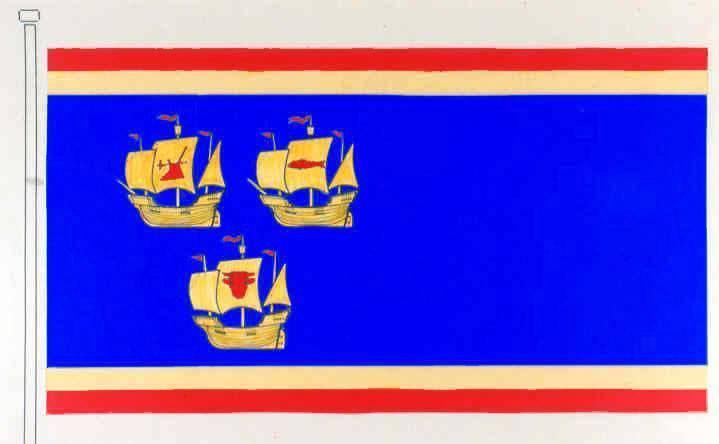 Flagge Kreis Nordfriesland