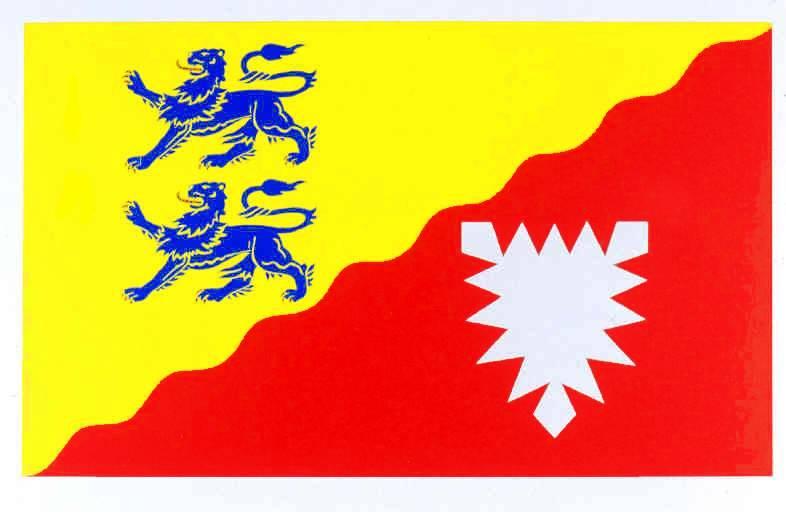 Flagge Kreis Rendsburg-Eckernförde